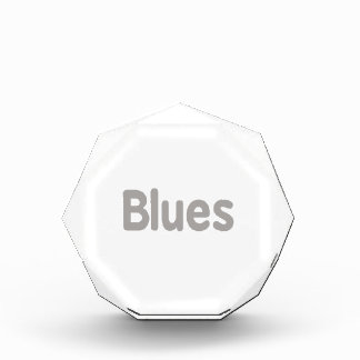 Blues word grey music design.png award