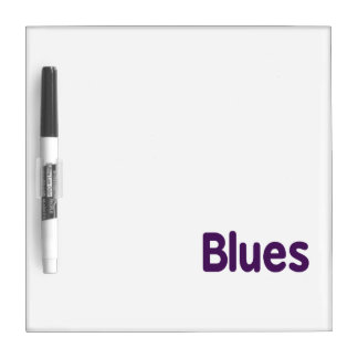 Blues word purple music design.png Dry-Erase boards
