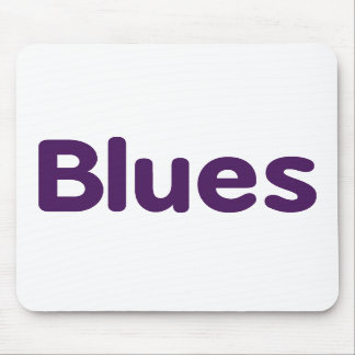 Blues word purple music design.png mousepad