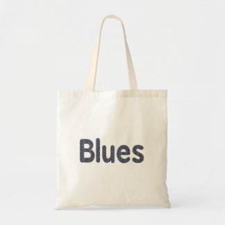 Blues word rock blue pattern music copy.png budget tote bag