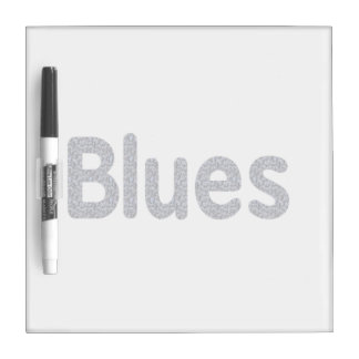 Blues word rock blue pattern music copy.png dry erase whiteboards
