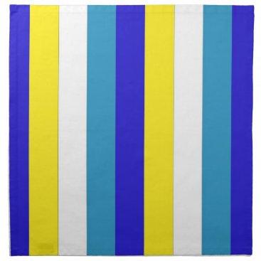 celestesheffey Blues, yellow and white cloth Napkins