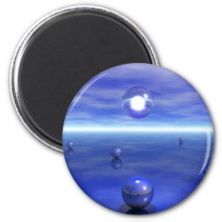 Bluescape Fridge Magnet