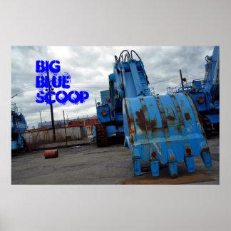 BlueScoop grande Póster