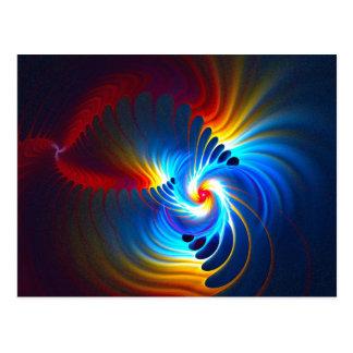 Blueshift gravitacional tarjeta postal