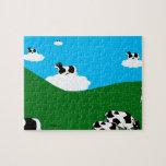 """BlueSky Cows """"Clowds"""" Puzzle"""