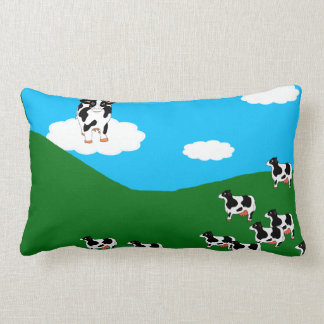 "BlueSky Cows ""Great One"" Pillow"