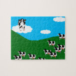 """BlueSky Cows """"Great One"""" Puzzle"""