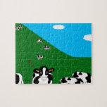 BlueSky Cows Hillside Puzzle