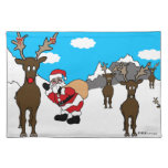BlueSkyChristmas Cloth Placemats