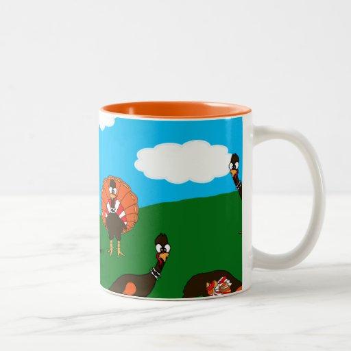 BlueSkyFarm Turkeys Mug