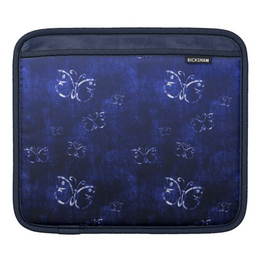 Bluesleeve antiguo abstracto fresco de las maripos fundas para iPads
