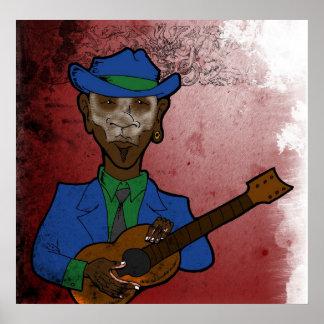 Bluesman Póster