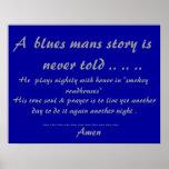 Bluesmans Prayer .. .. .. Poster
