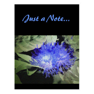 BlueSpiderMum - Just a Note Postcard