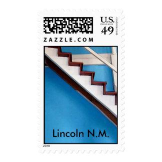bluestair02, Lincoln N.M. Postage