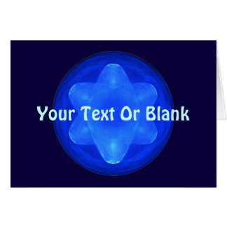 Bluestar Fractal Card