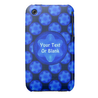 Bluestar Fractal Case-Mate iPhone 3 Case