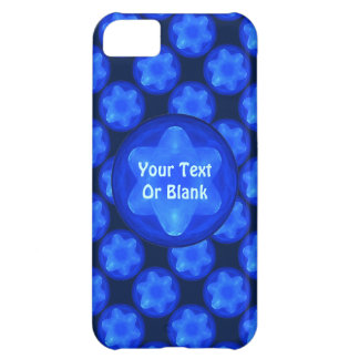 Bluestar Fractal Cover For iPhone 5C