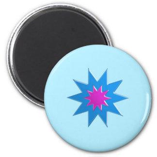 BLUESTAR Magic Relationship Goodluck LOWPRICE 2 Inch Round Magnet