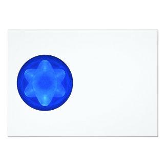 Bluestar on White Card