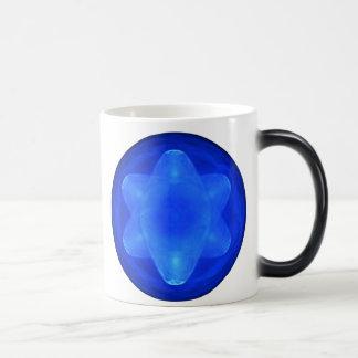 Bluestar on White Mugs