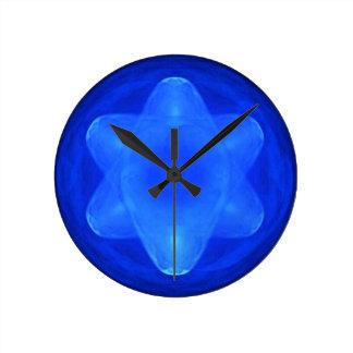 Bluestar Round Clock