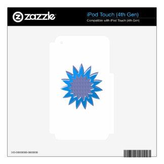 BlueSTAR SuperSTAR : Elegant GIFT for all occasion iPod Touch 4G Skin