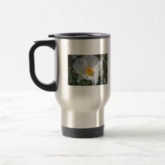 Bluestem prickle poppy purple stamen 15 oz stainless steel travel mug