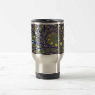 'Bluestrand Spiral' mug mug