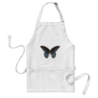 BlueSwallowTail Butterfly Adult Apron