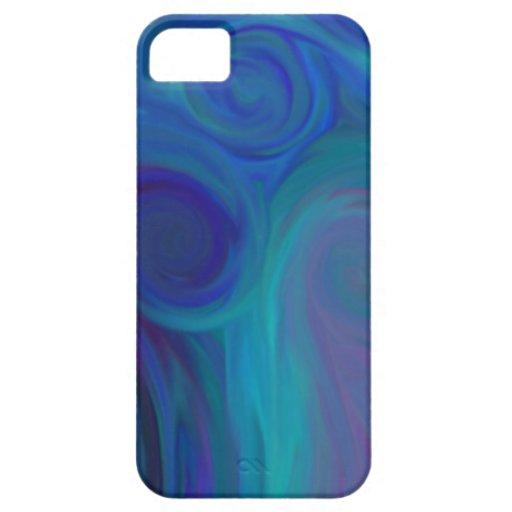 BlueSwirls iPhone 5 Case-Mate Carcasas