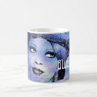 Bluesy Lady With Hat Mug