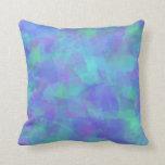 Bluesy Purples Throw Pillow