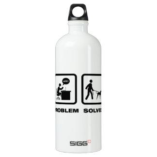 Bluetick Coonhound Aluminum Water Bottle