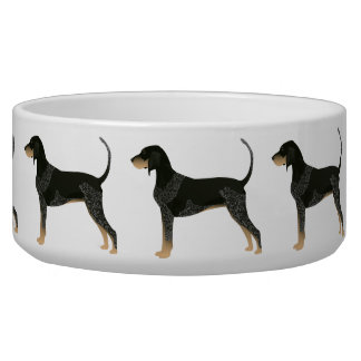 Bluetick Coonhound Basic Breed Customizable Design Bowl