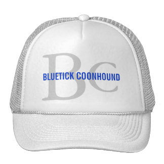 Bluetick Coonhound Breed Monogram Trucker Hat