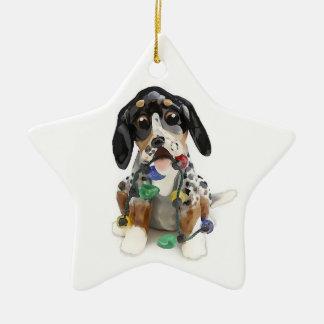Bluetick Coonhound Christmas Ornament