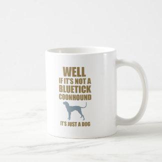Bluetick Coonhound Classic White Coffee Mug