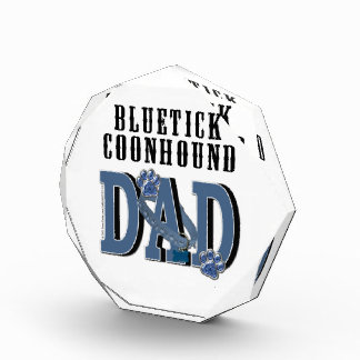 Bluetick Coonhound DAD Acrylic Award