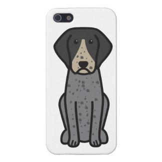 Bluetick Coonhound Dog Cartoon iPhone 5 Cover