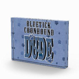 Bluetick Coonhound DUDE Acrylic Award