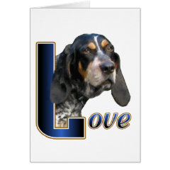 Bluetick Coonhound Gifts card