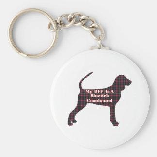Bluetick Coonhound Gifts Keychain