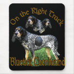 Bluetick Coonhound Gifts Mouse Mat