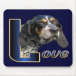 Bluetick Coonhound Gifts Mouse Pad