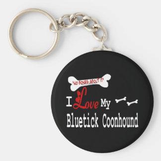 Bluetick Coonhound Keychain