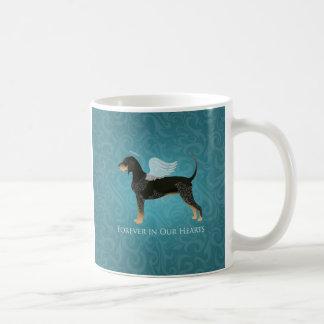 Bluetick Coonhound Pet Memorial Angel Dog Coffee Mug