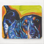 Bluetick Coonhound Pop Art Mouse Pad