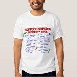 BLUETICK COONHOUND Property Laws 2 T-shirt